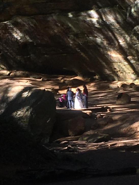 18 ash cave wedding 5